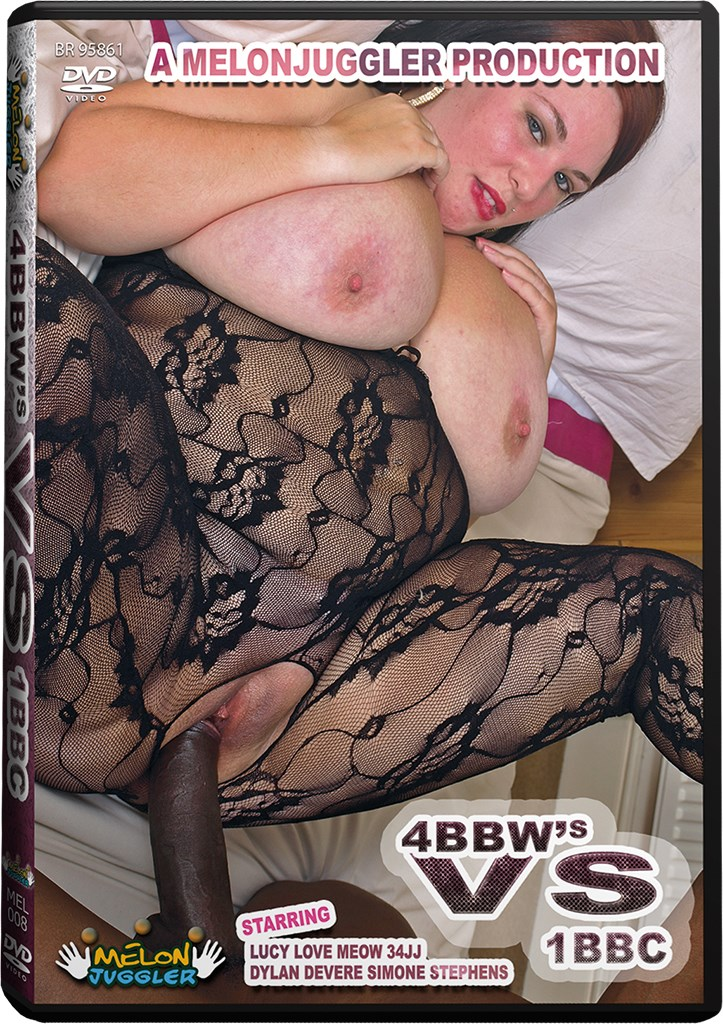 DVD - 4 BBW's vs 1BBC
