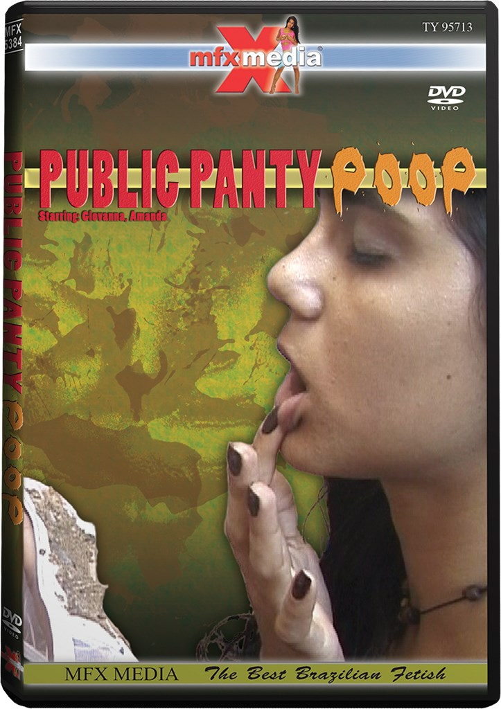 DVD - Public Panty Poop