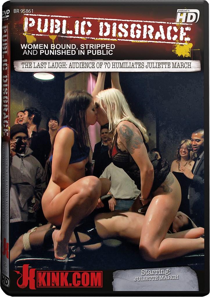 DVD - The Last Laugh: Audience of 70 Humiliates Juliette March