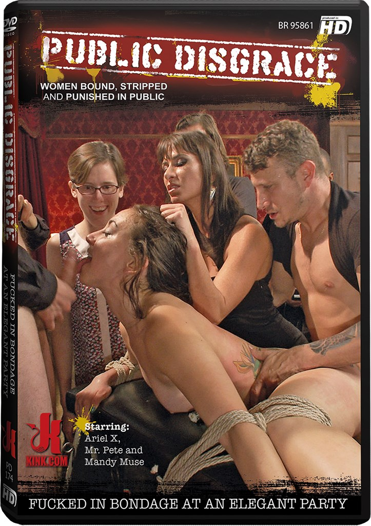 DVD - Fucked in Bondage at an Elegant Party
