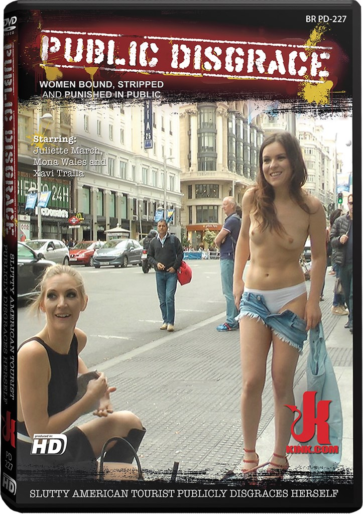 DVD - Slutty American Tourist Publicly Disgraces Herself