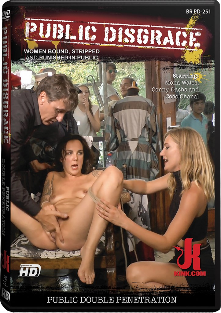 DVD - Public Double Penetration