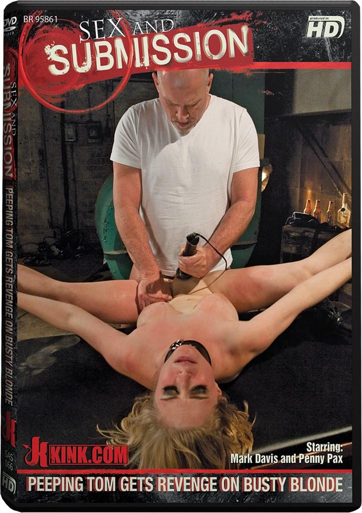 DVD - Peeping Tom Gets Revenge on Busty Blonde