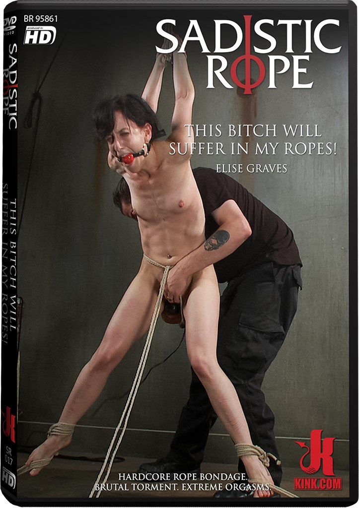 DVD - This Bitch Will Suffer in my Ropes!