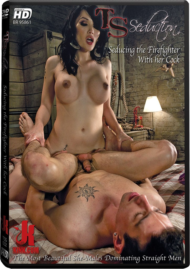 DVD - Seducing the Firefighter With her Cock