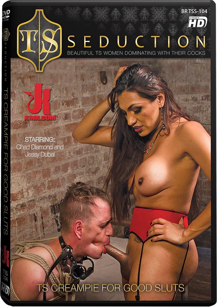 DVD - TS Creampie for Good Sluts