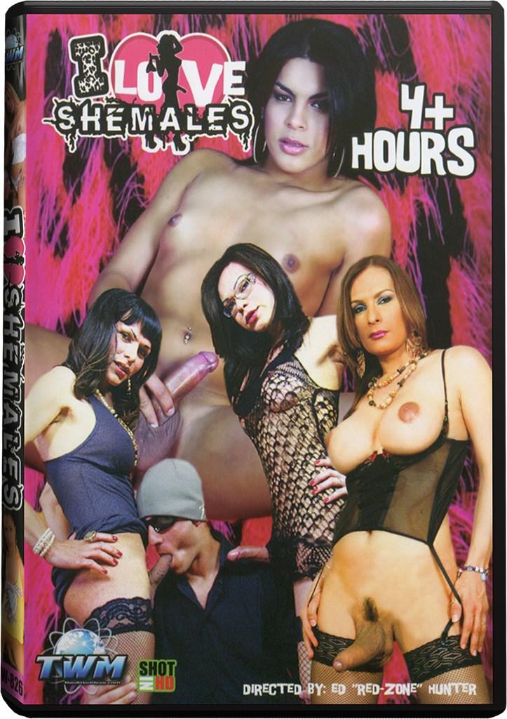 DVD - I Love Shemales