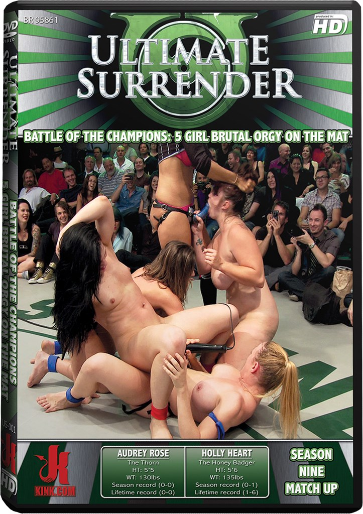 DVD - Battle of the Champions: 5 Girl Brutal Orgy on the Mat
