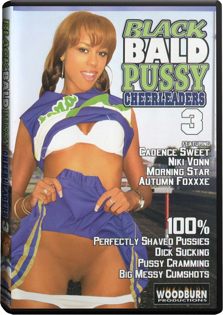 DVD - Black Bald Pussy Cheerleaders 3