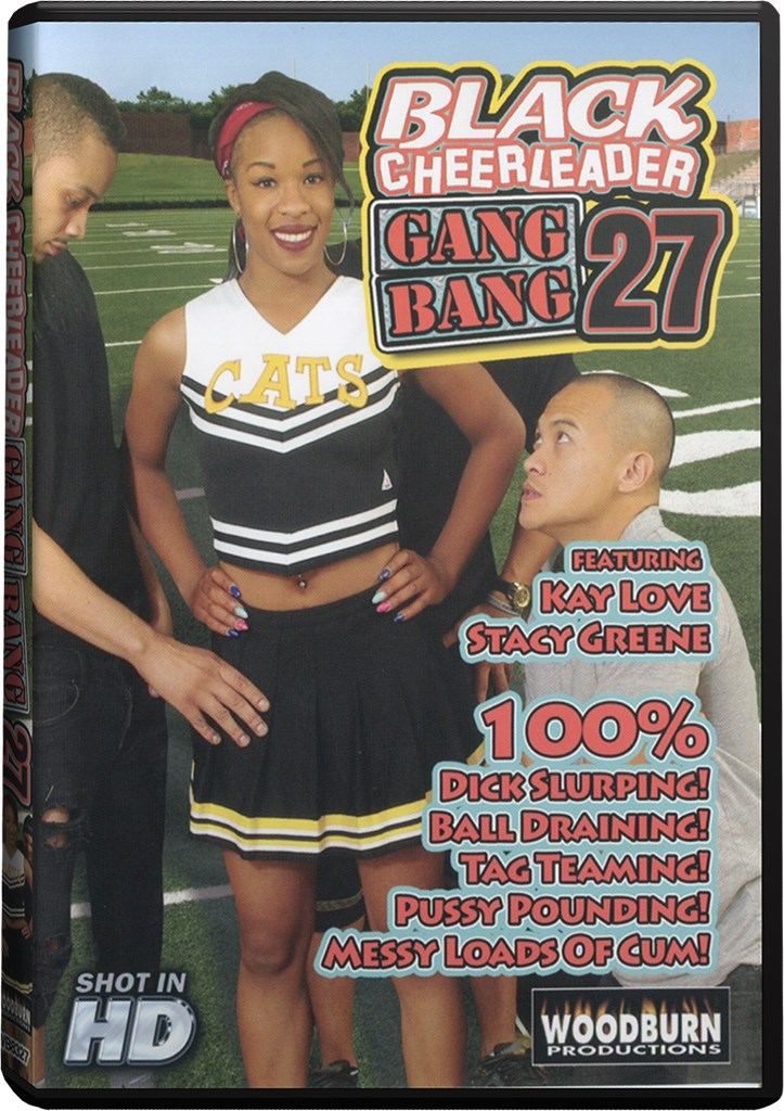 DVD - Black Cheerleader Gang Bang 27