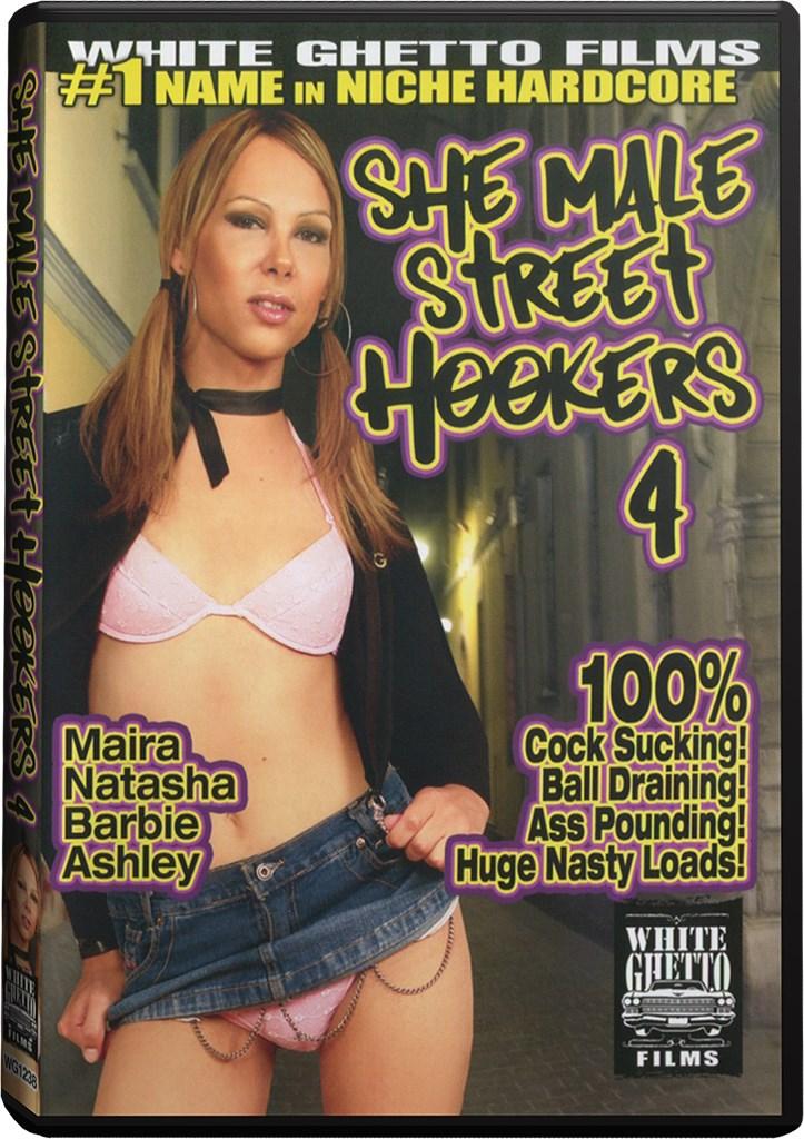 DVD - She Male Street Hookers 4