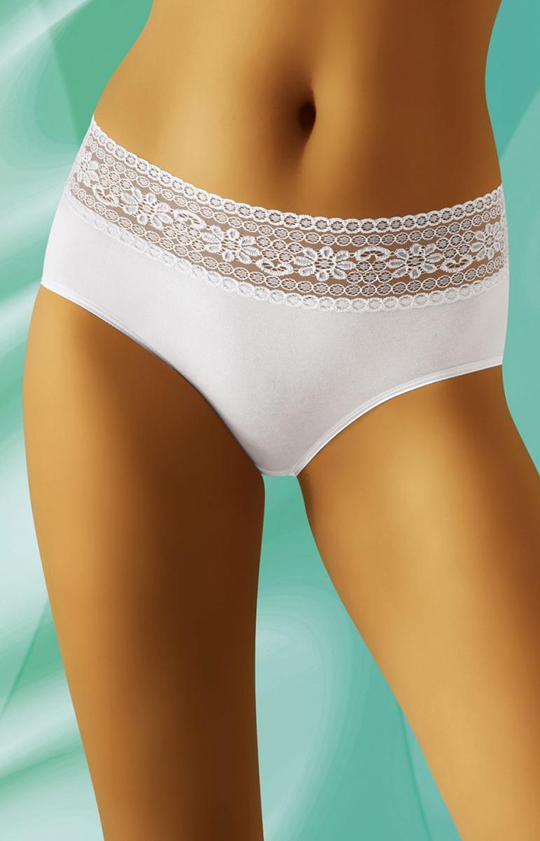 Dámské kalhotky Wolbar eco-NA bílé (velikost XXL)