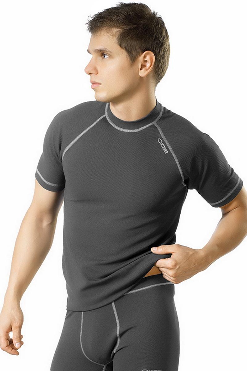 Pánské tričko gWinner Classic V šedé (velikost S)