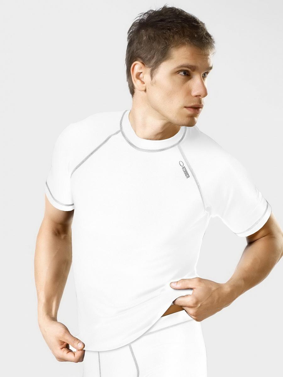 Pánské tričko gWinner Classic V bílé (velikost S)
