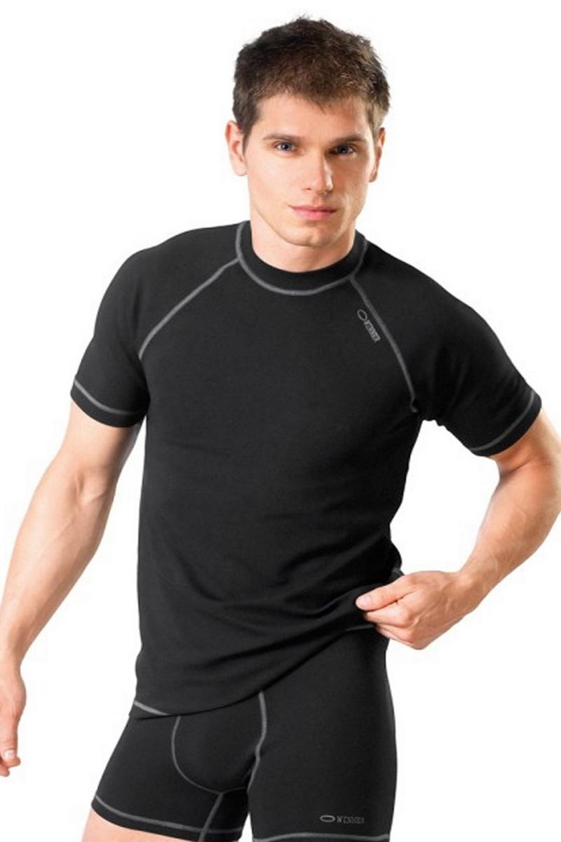 Pánské tričko gWinner Classic V černé (velikost S)