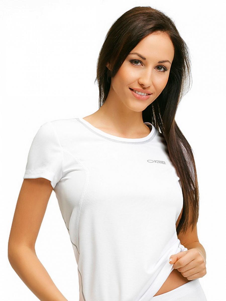 Dámské sportové tričko gWinner Classic IX bílé (velikost XS)