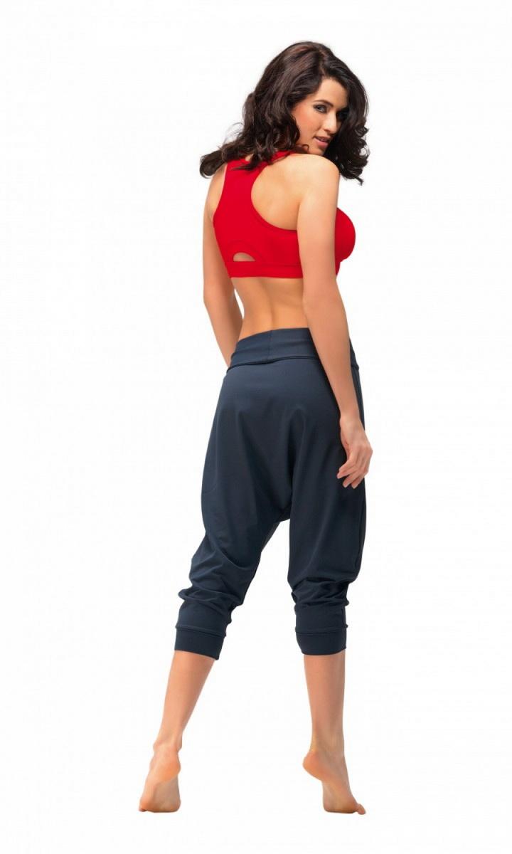 Dámské fitness kalhoty gWinner Creola II šedé (velikost L)
