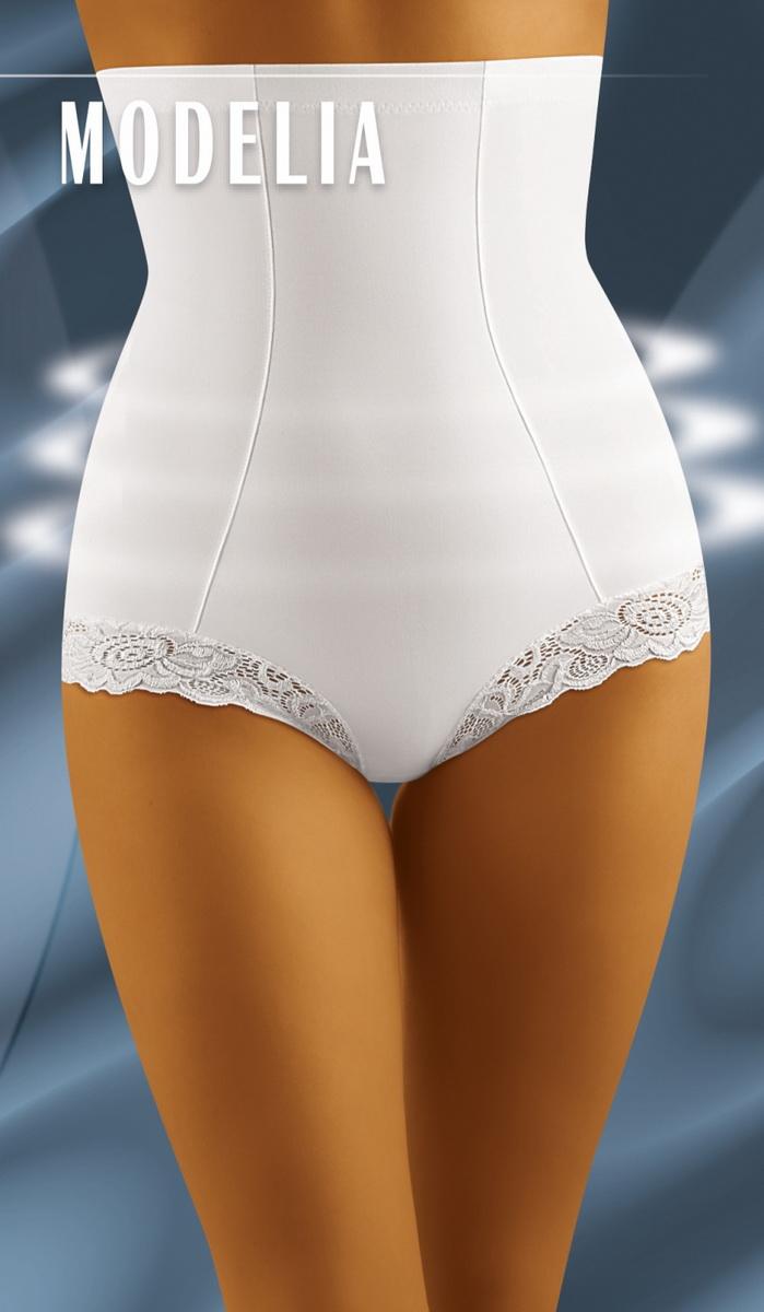 Stahovací kalhotky Wolbar Modelia bílé (velikost XL)