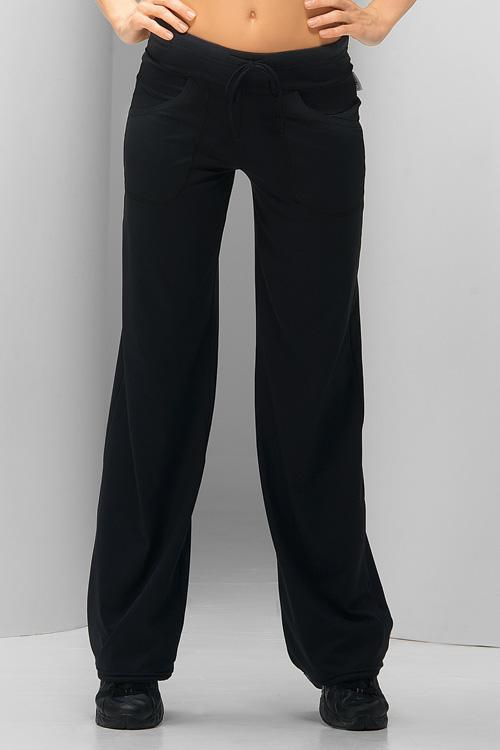 Fitness kalhoty gWinner Anna černé (velikost S)