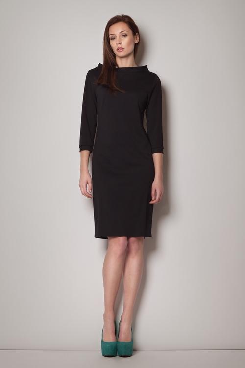 Dámské šaty Figl M181 černé (velikost S)