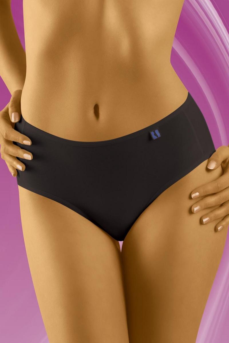 Dámské kalhotky Wolbar TAHOO Midi černé (velikost XXL)