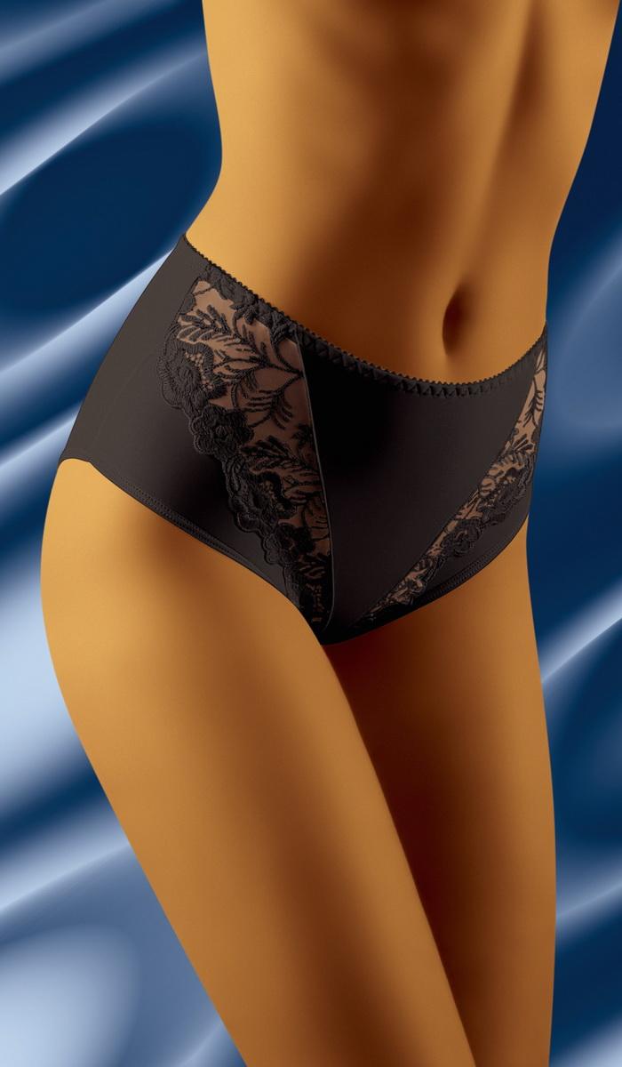 Dámské kalhotky Wolbar Gabe černé (velikost XXL)