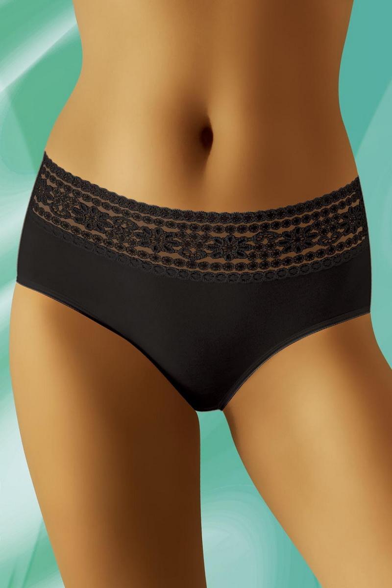 Dámské kalhotky Wolbar eco-NA černé (velikost XL)