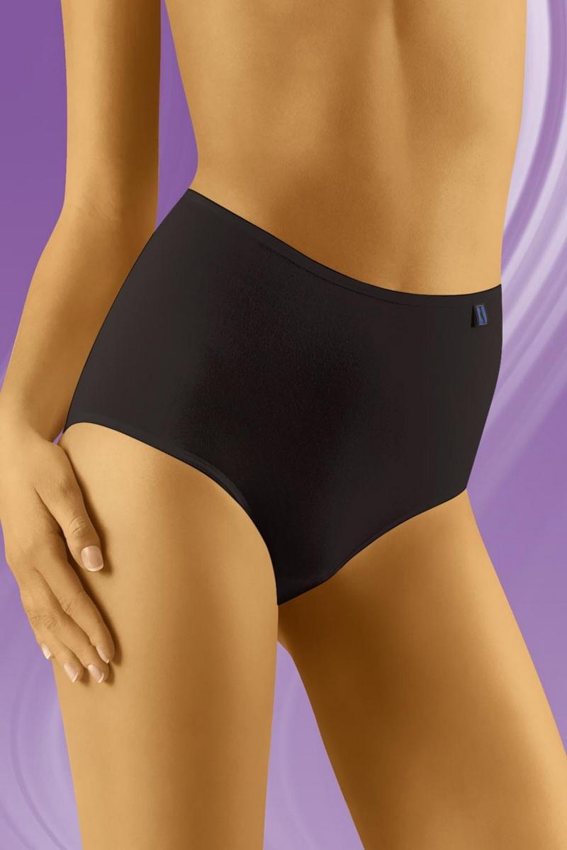 Dámské kalhotky Wolbar TAHOO Maxi černé (velikost XXL)