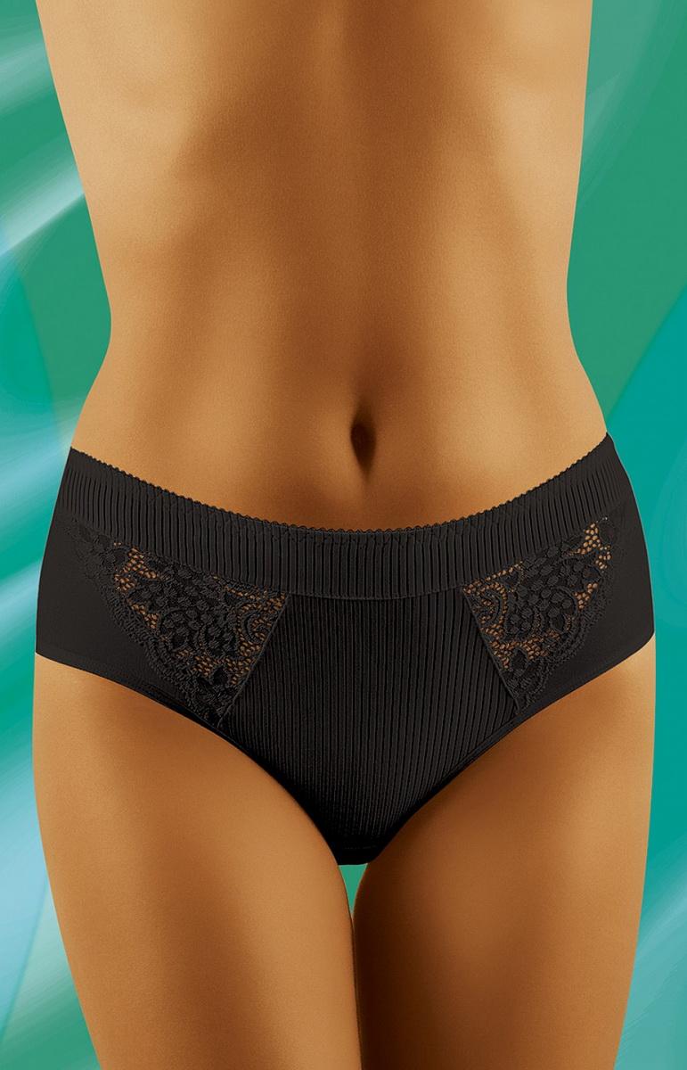 Dámské kalhotky Wolbar eco-FI černé (velikost XL)