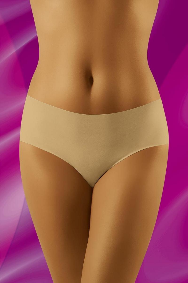 Dámské kalhotky Wolbar Eliana béžové (velikost XL)