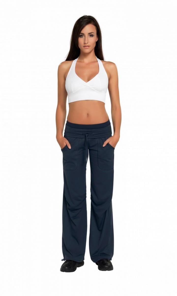 Fitness kalhoty gWinner Miranda grafitové (velikost M)
