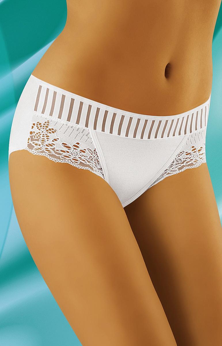 Dámské kalhotky Wolbar eco-LU bílé (velikost XL)