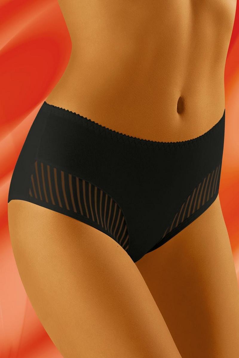 Dámské kalhotky Wolbar eco-QI černé (velikost XXL)