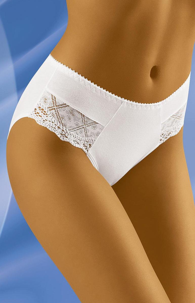 Dámské kalhotky Wolbar eco-YO bílé (velikost XXL)