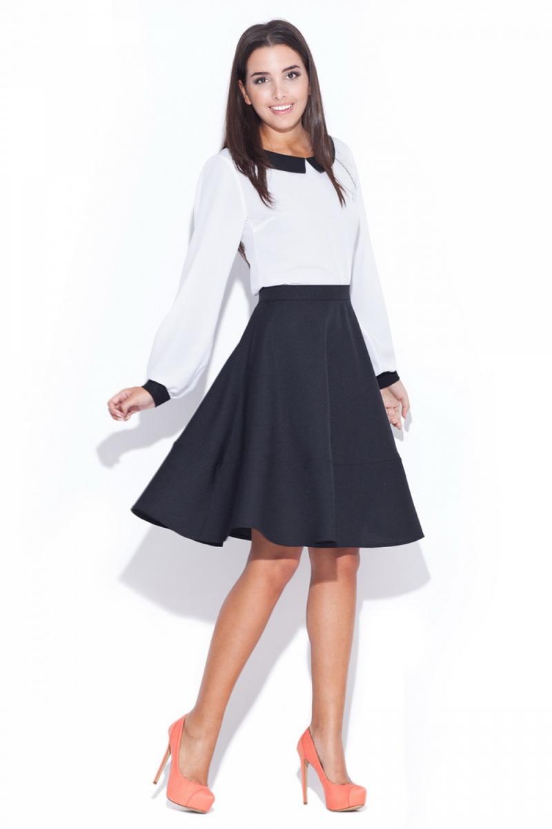 Dámská sukně Katrus K055 černá (velikost S)