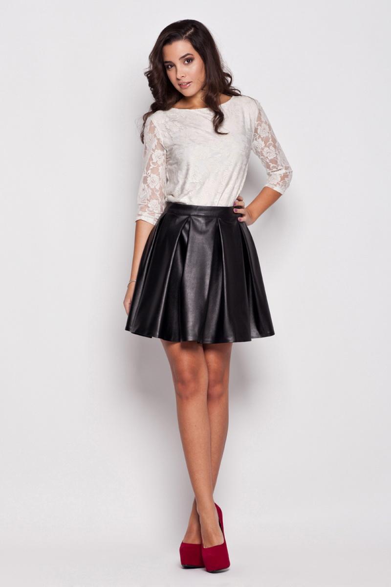 Dámská sukně Katrus K069 černá (velikost S)