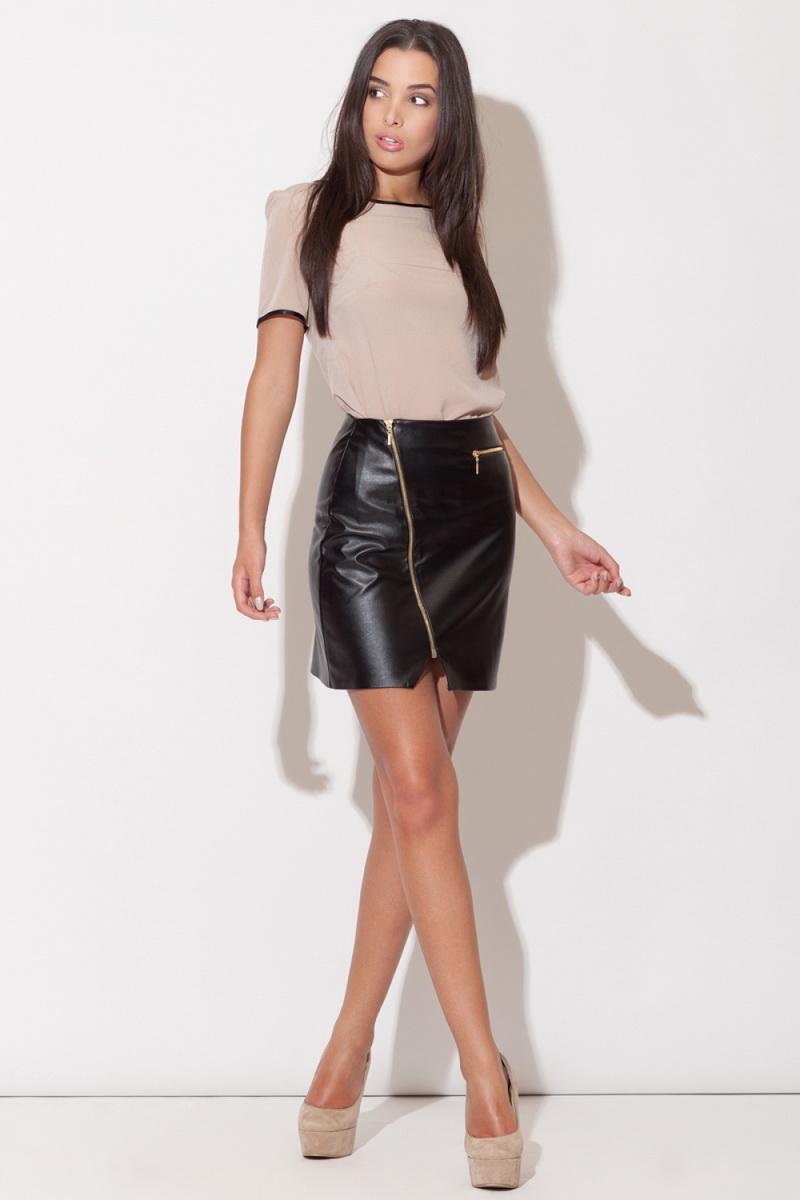 Dámská sukně Katrus K096 černá (velikost S)