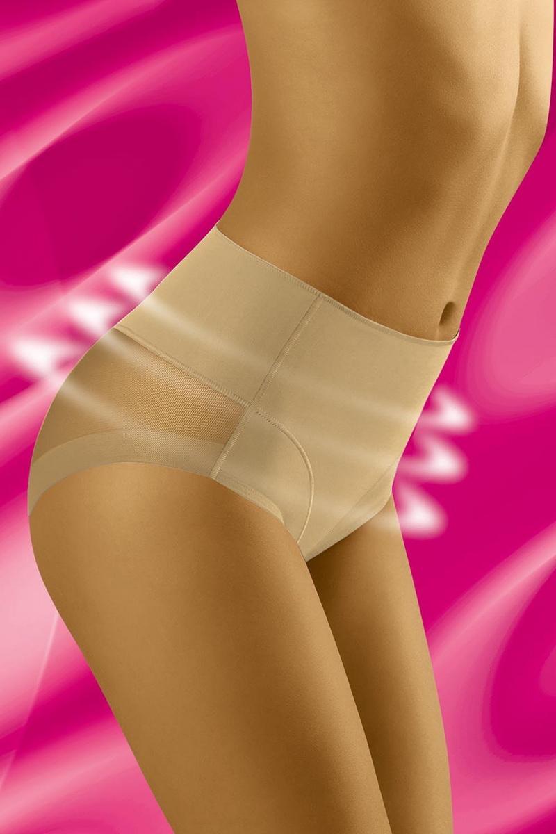 Stahovací kalhotky Wolbar Uniqa béžové (velikost XL)