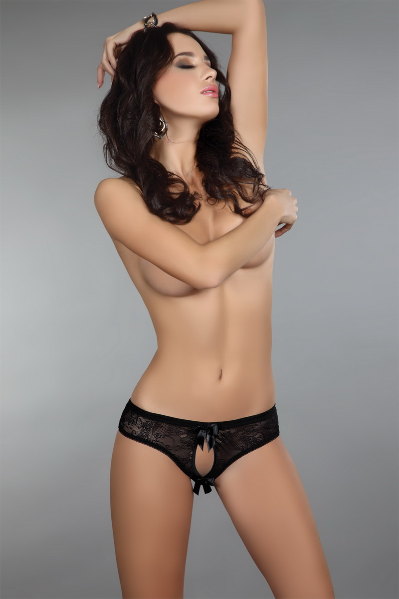 Dámské kalhotky LivCo Corsetti Jancis černé (velikost S/M)