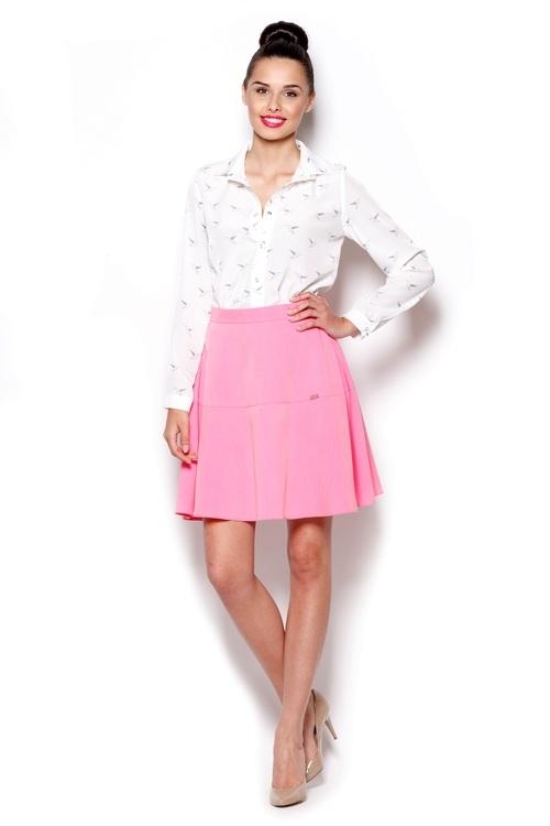 Dámská sukně Figl M285 růžová (velikost L)