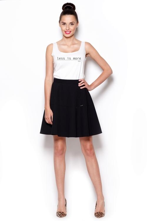 Dámská sukně Figl M285 černá (velikost L)