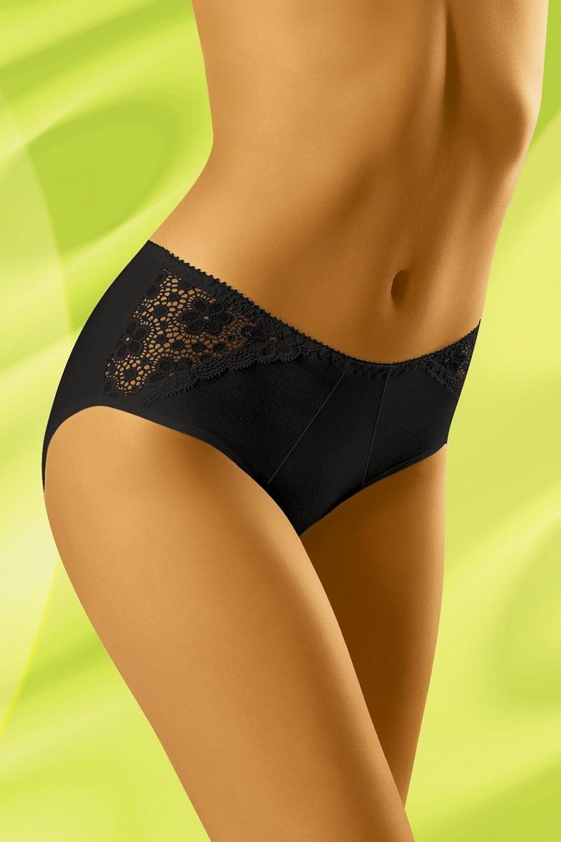 Dámské kalhotky Wolbar Eco-NU černé (velikost XL)