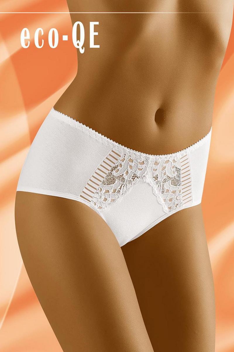 Dámské kalhotky Wolbar Eco-QE bílé (velikost L)