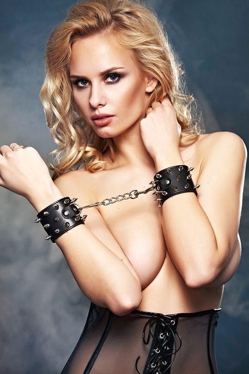 Erotická pouta 7-Heaven A7773 černá