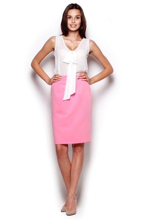 Dámská sukně Figl M308 růžová (velikost L)