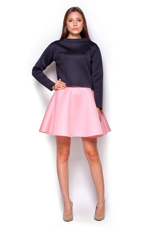 Dámská sukně Figl M340 růžová (velikost S)