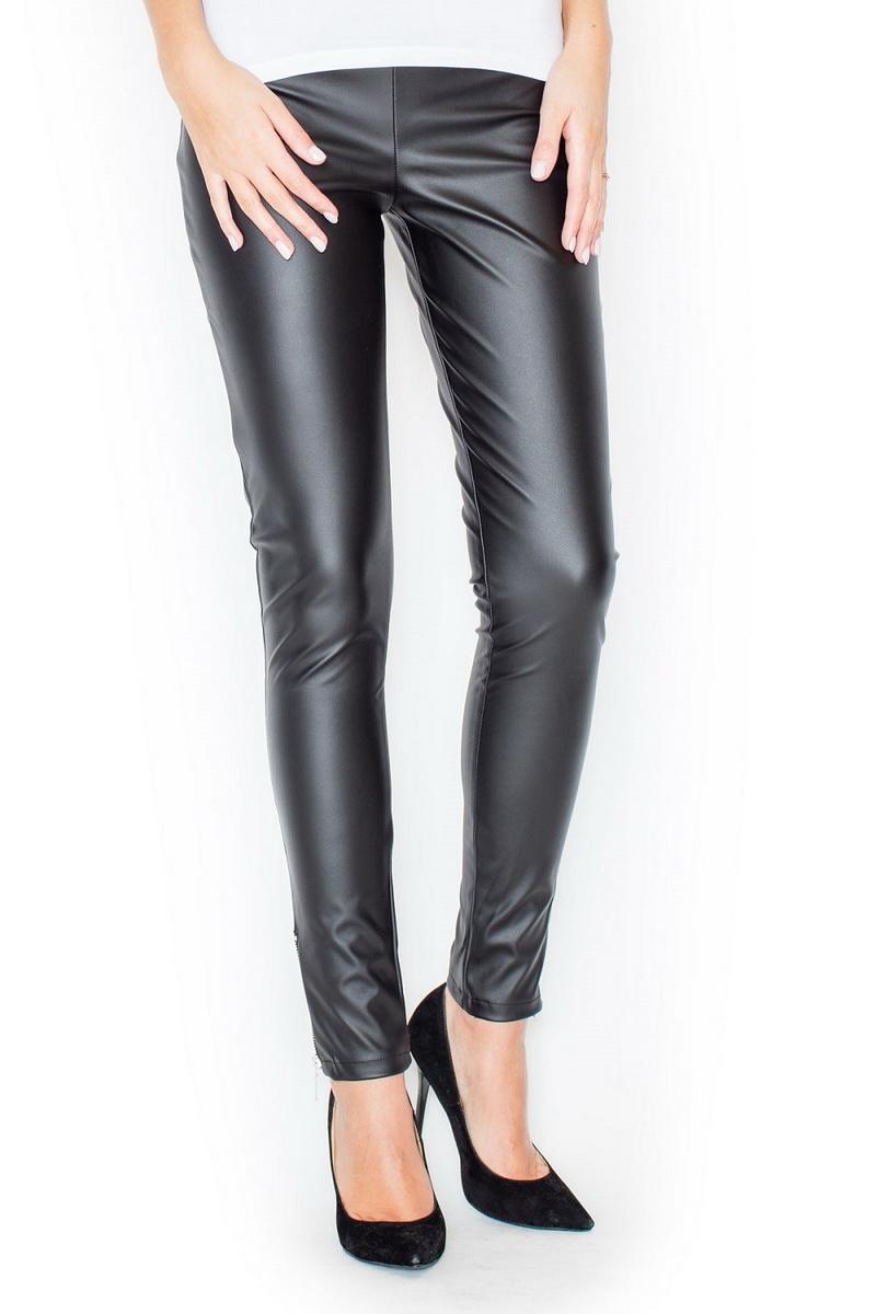 Dámské kalhoty Katrus K197 černé (velikost S)