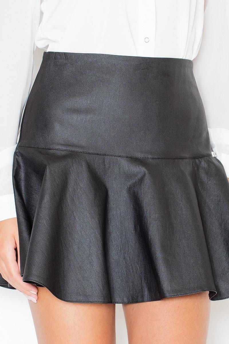 Dámská sukně Katrus K239 černá (velikost S)