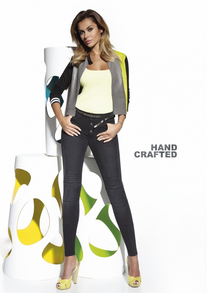 Dámské kalhoty BasBleu Avril černé (velikost M)