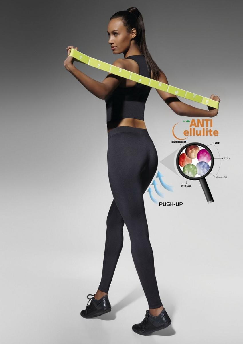 Fitness legíny BasBleu Riley černé (velikost S)
